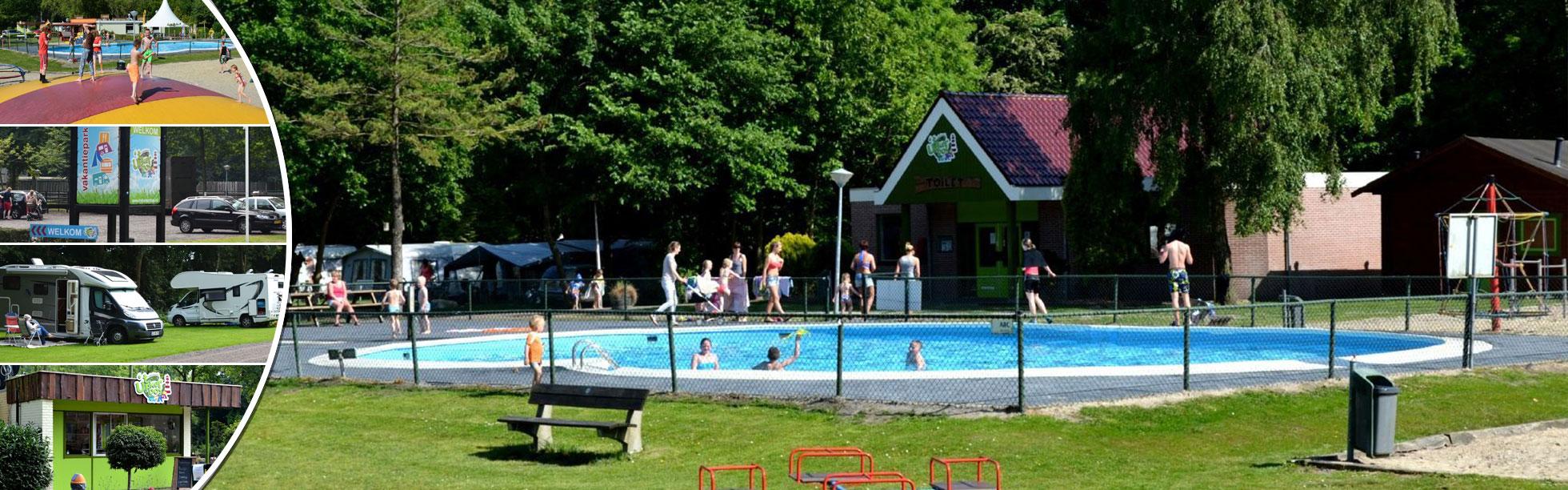 Zwembad camping het Urkerbos