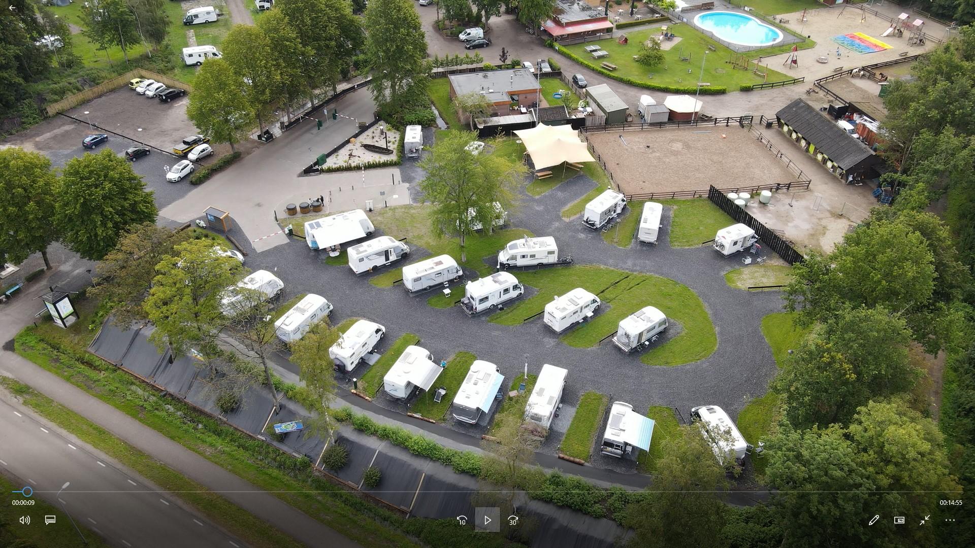 Overzichtsfoto camperpark