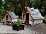 Holzhütte 2 oder 4 Personen